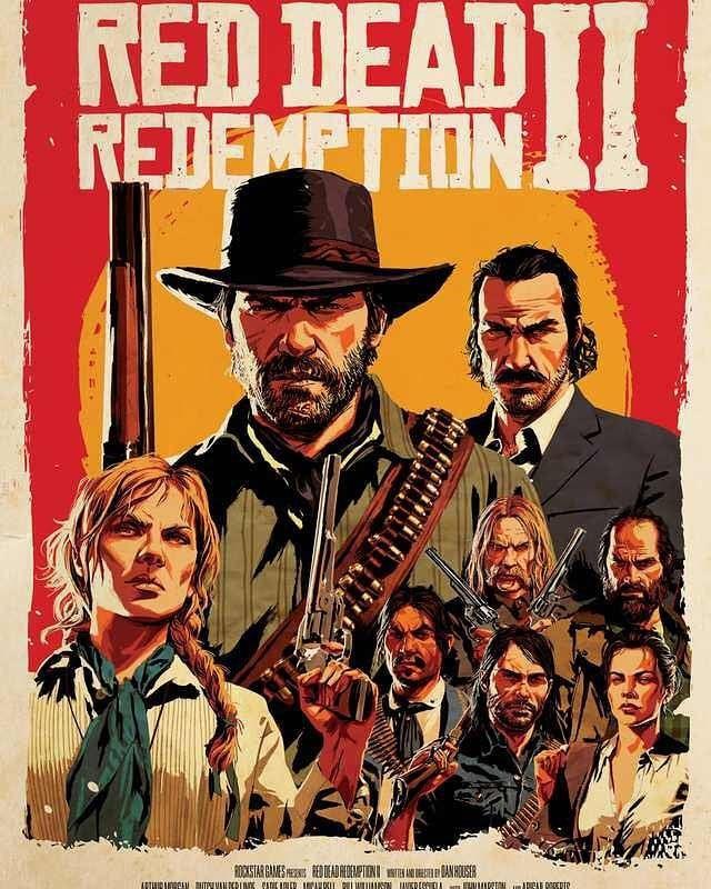 Red Dead Redemption Wallpaper Hd: Red Dead Redemption 2