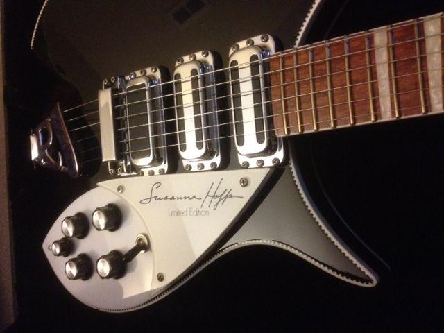Rickenbacker 350SH Susanna Hoffs detail  Rickenbacker Guitars  Pinterest   # Table Bass Télé