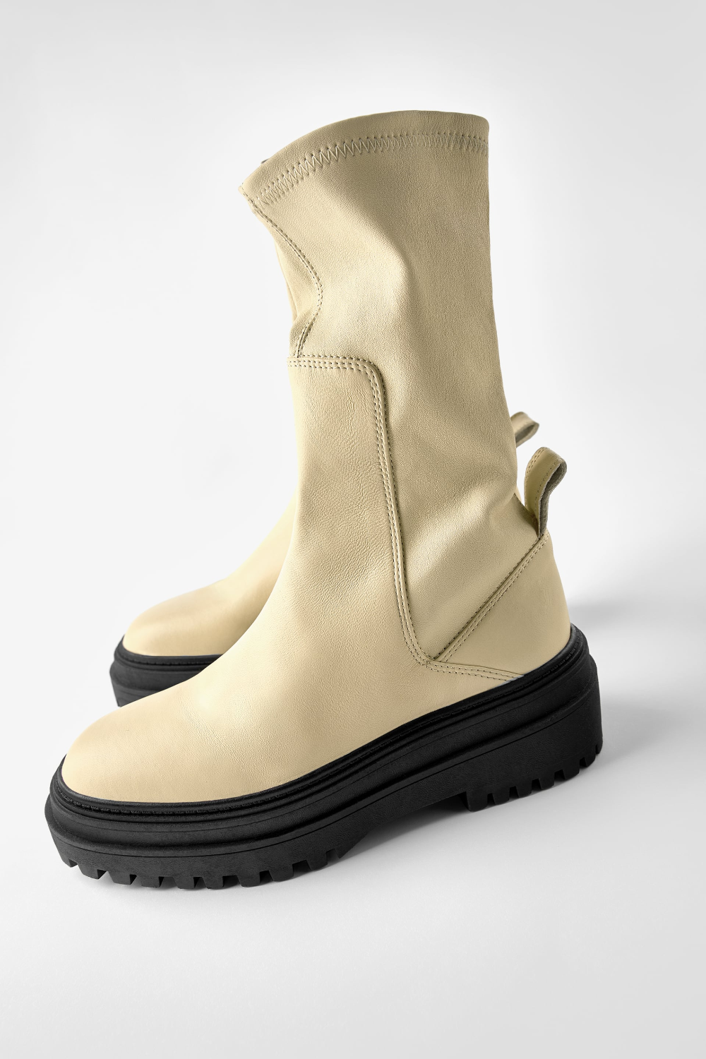 Soft leather ankle boots in 2020