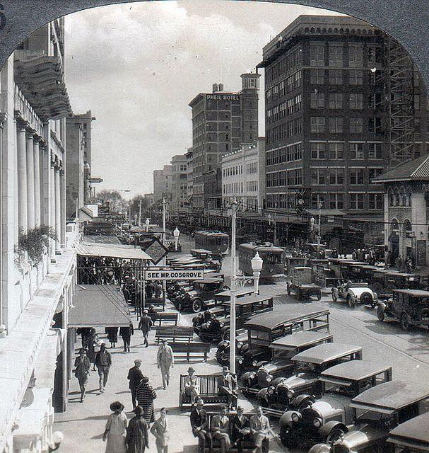 Central Avenue 1940's | Old florida, Retro photo, Photo