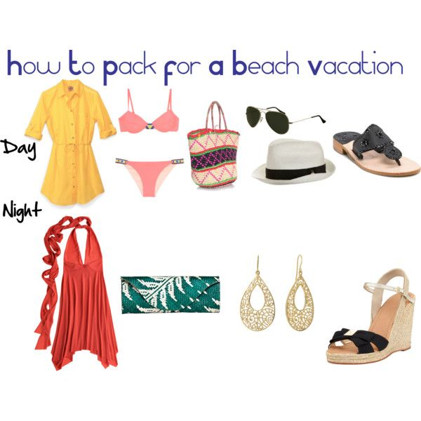 How To Pack For A Beach Vacation | Beach vacation packing ...
