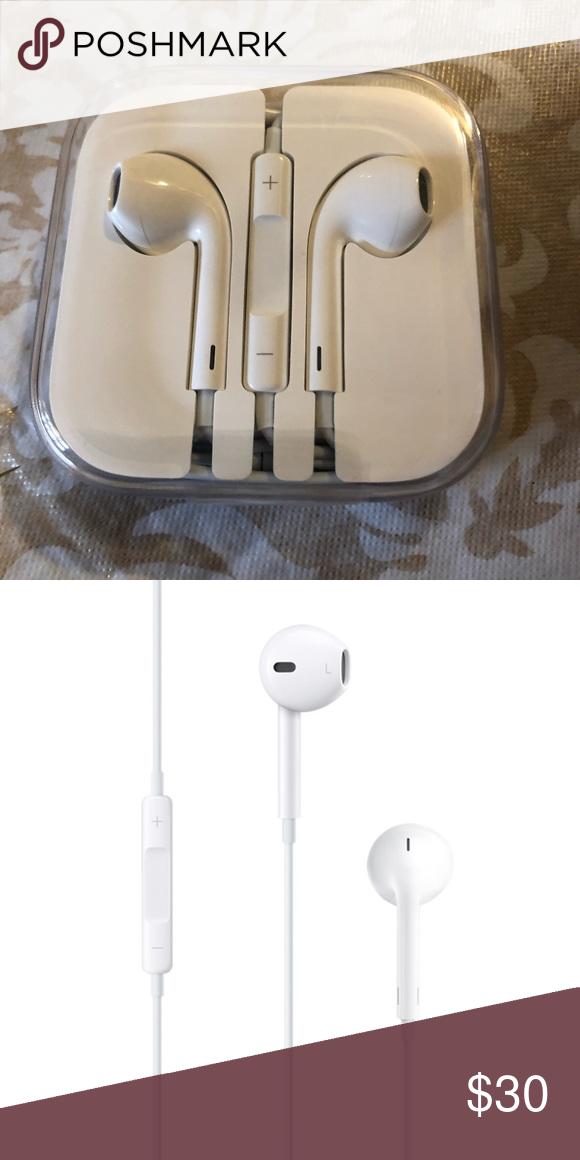 Earpods With 3 5mm Headphone Plug Apple Earphones Iphone Headphones Iphone Earbuds