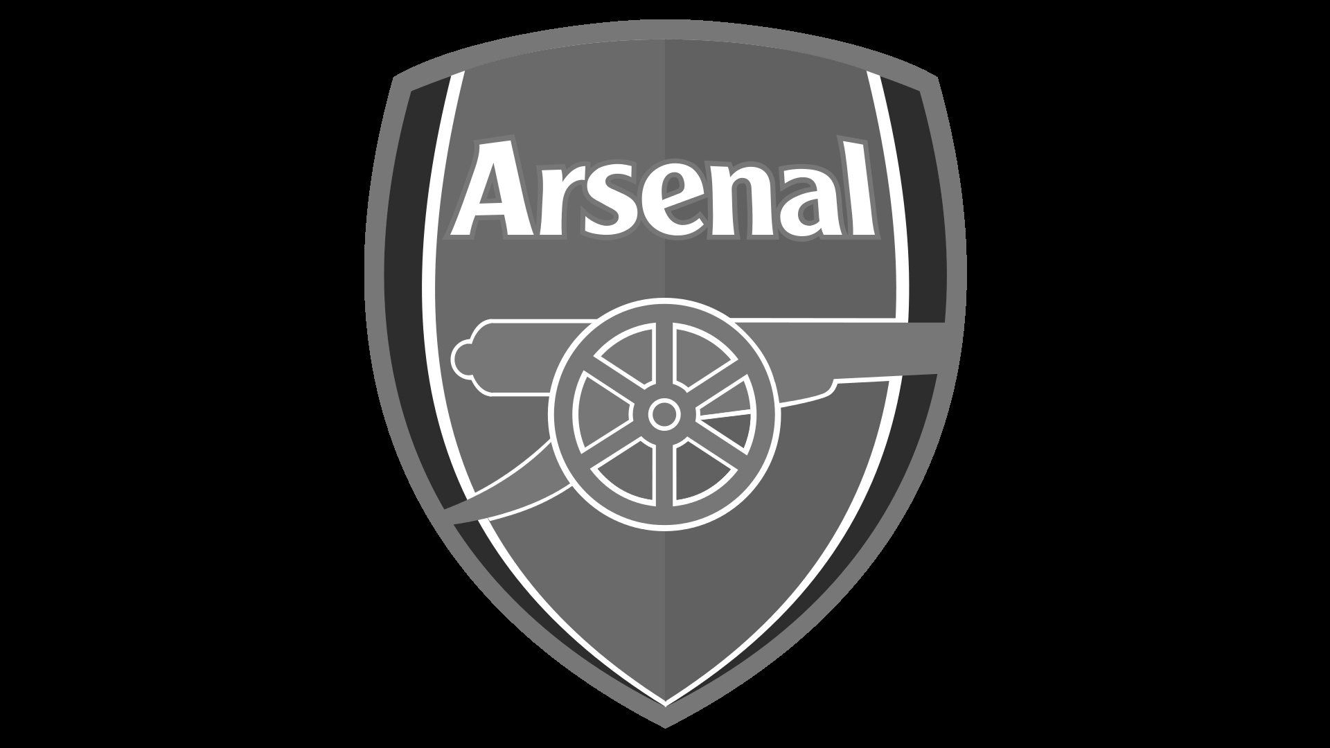 vector white arsenal logo