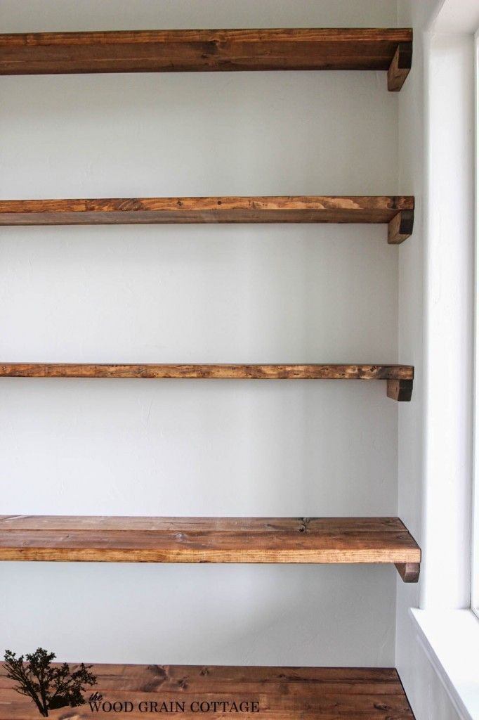 Diy Esszimmer Raum Open Shelving By The Wood Grain Cottage 16 682