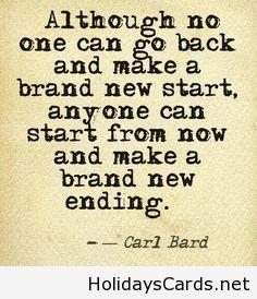 brand new start new year saying