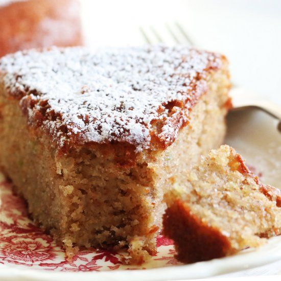 Incredibly moist coffee cake made with good-for-you ...