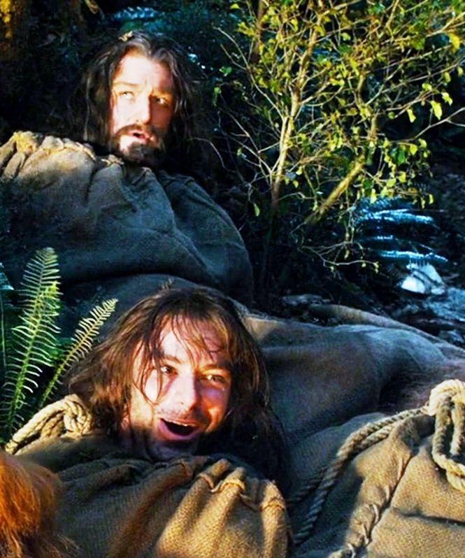 Thorin And Kili Kili Looks Like He 39 S Having The Time Of