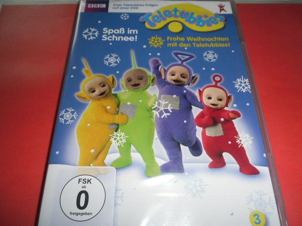 Teletubbies - Spaß im Schnee / Frohe Weihnachten mit den Teletubbies ...