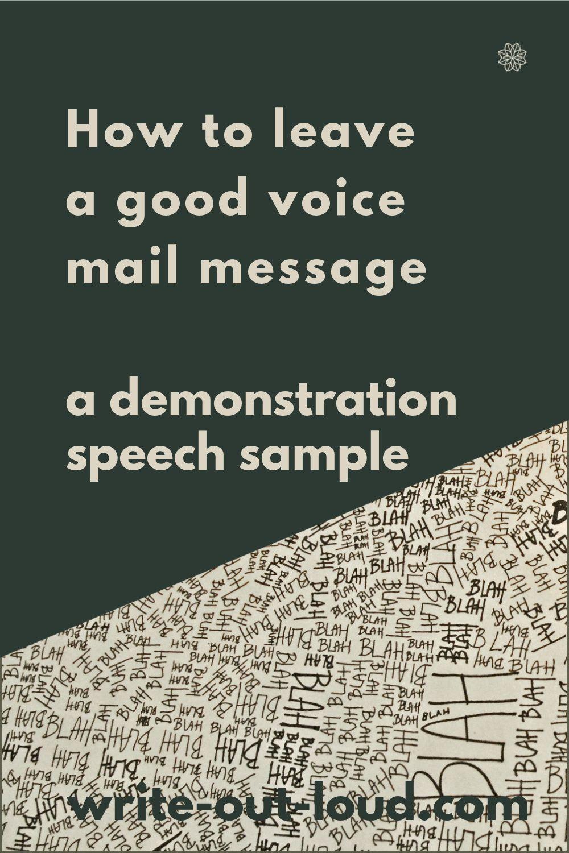 A Demonstration Speech Sample Speech Writing Tips Demonstration Speech Speech Topics