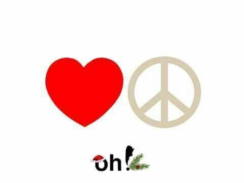 Corazon y signo de la paz | no deberia pero 2 | Pinterest | Signos ...