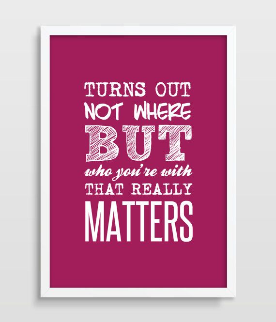 Typography, Typographic Poster, Inspirational Quote, Dave