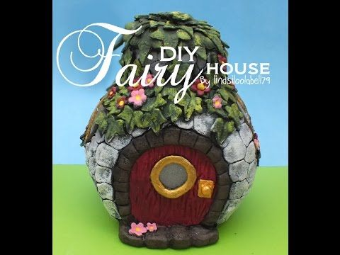 Fairy house, speed through. quick speedy video showing how I make my ...