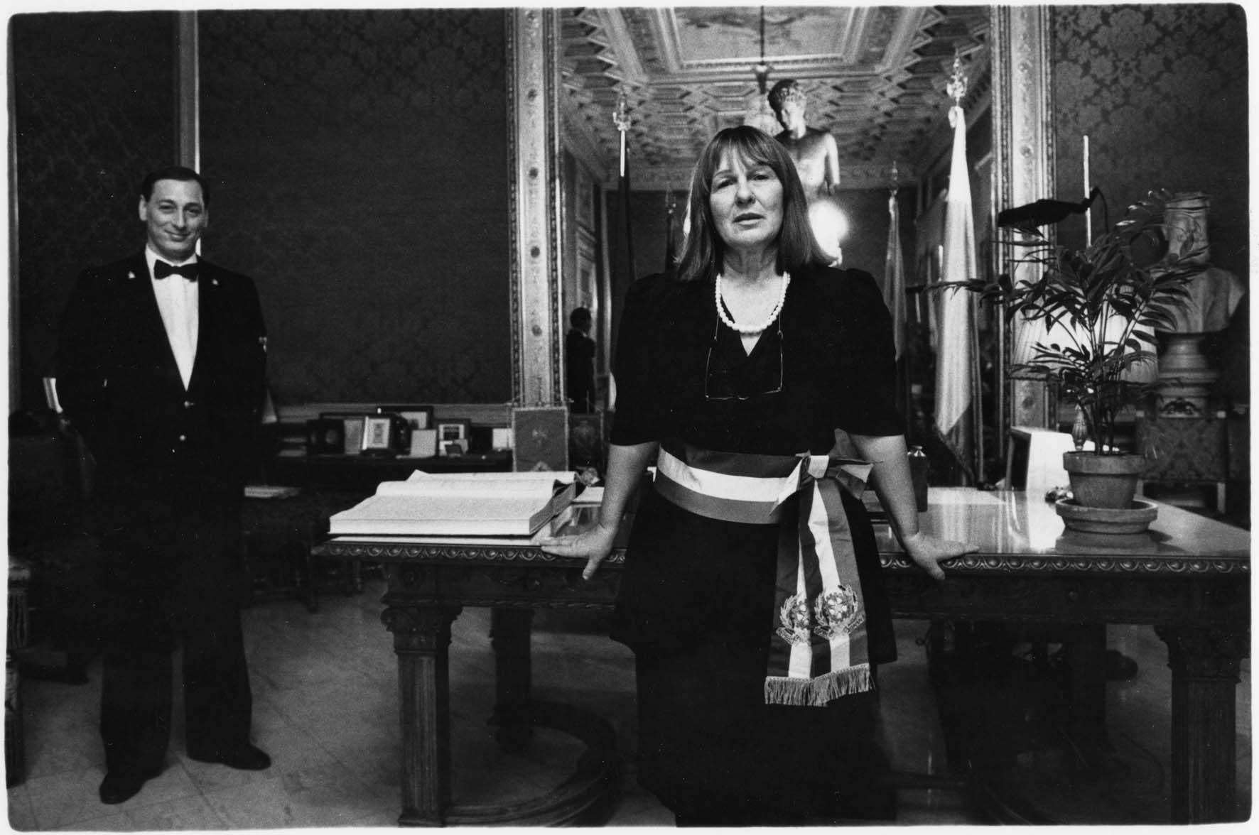 Letizia Battaglia, assessora al Comune di Palermo.