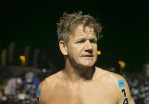 Chef Gordon Ramsay shows off slimmer shape after triathlon: 'I look like a bloody piece of asparagus!'