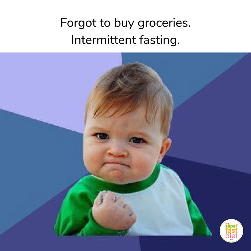 Intermittent Fasting Funny Memes