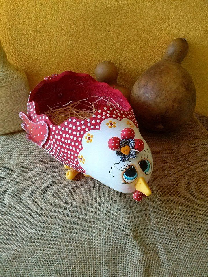 Calabazas pintadas a mano gallinas buscar con google - Calabazas pintadas y decoradas ...