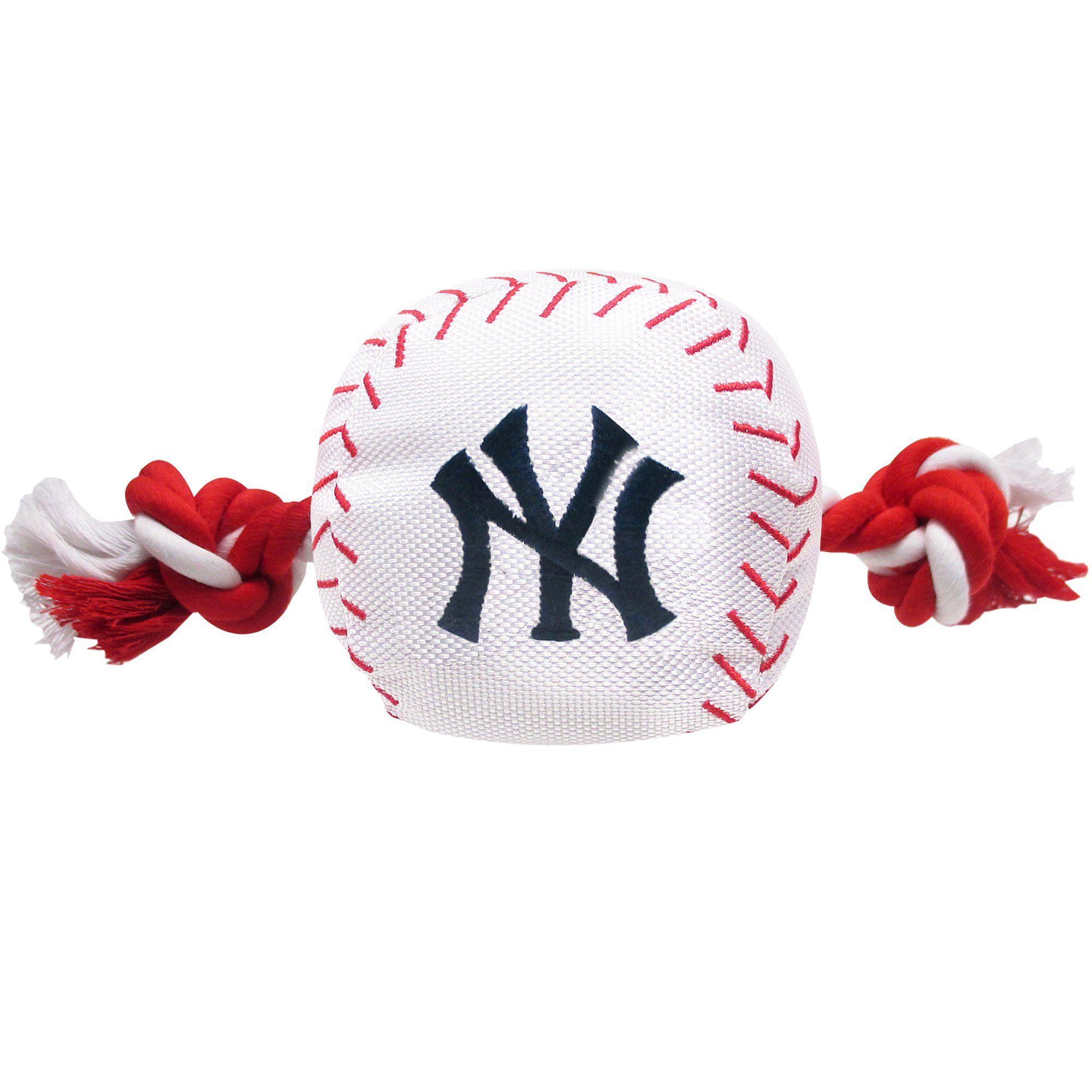 Pets First Mlb New York Yankees Baseball Toy Large Petco In 2020 Rope Dog Toys New York Yankees Baseball Rockies Baseball