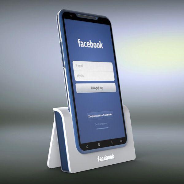 FaceBook SmartPhone Concept... I mean, I  barely use Facebook.. I'd buy a Pinterest one :3