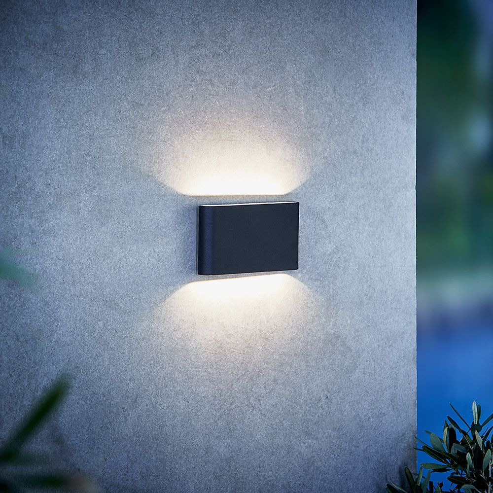 Led-außenwandleuchte Rachel Buy A By Amara Kinver Outdoor Wall Light Black Amara