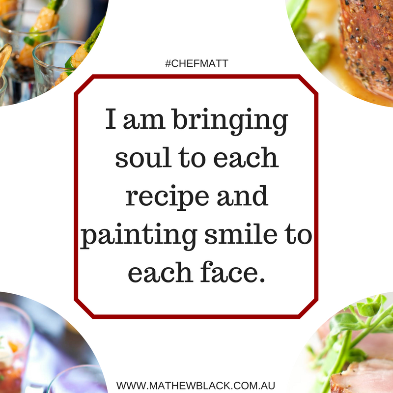 As A Chef I Am Bringing Soul To Each Recipe And Painting Smile To