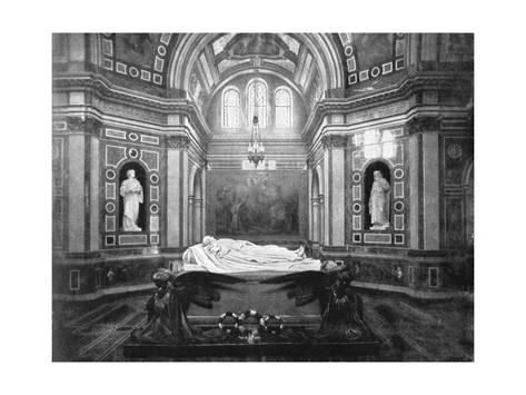 The Royal Mausoleum Frogmore 1901 Giclee Print By Hn King At Art