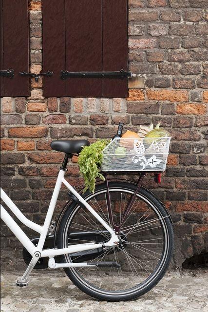 Bicycle Basket Basil Denton Vanvlietbikes Fietsdingen