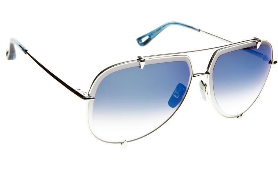 4f72241d6bcc Dita Sunglasses TALON 23007-E Silver Grey Frame Blue Lens  DITA  Pilot