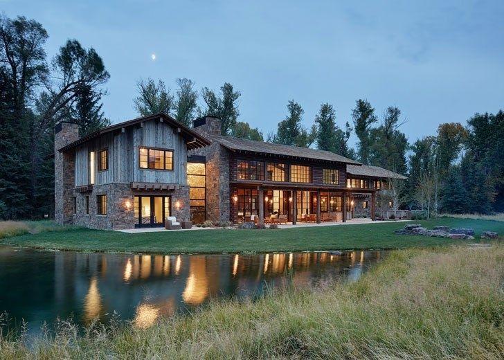 Резиденция посреди природы, которая впечатляет с первой фотографии - Дизайн интерьеров | Идеи вашего дома | Lodgers