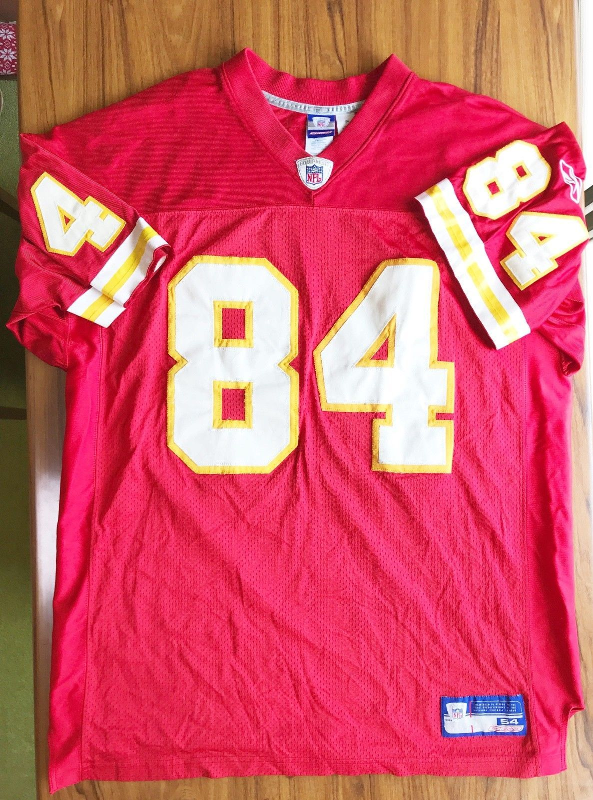 ae1c7f5cfaf Sylvester Morris Kansas City Chiefs Reebok AUTHENTIC JERSEY 54 (eBay Link)