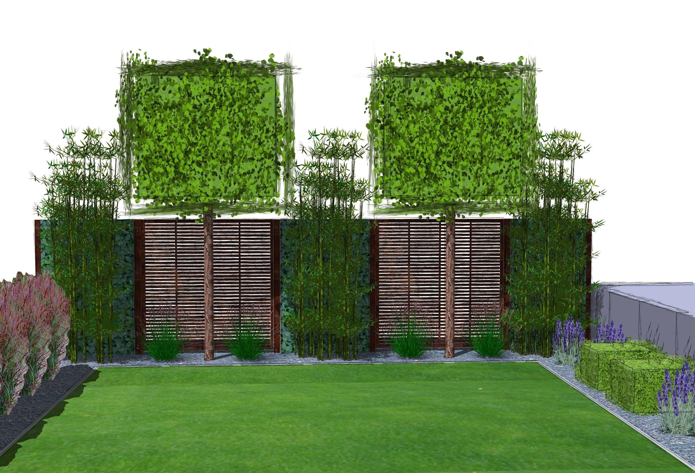 Hoher Sichtschutz Hoher Sichtschutz Simple Sichtschutz Garten Holz
