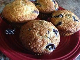 Fresh Baked Blueberry Muffins!!