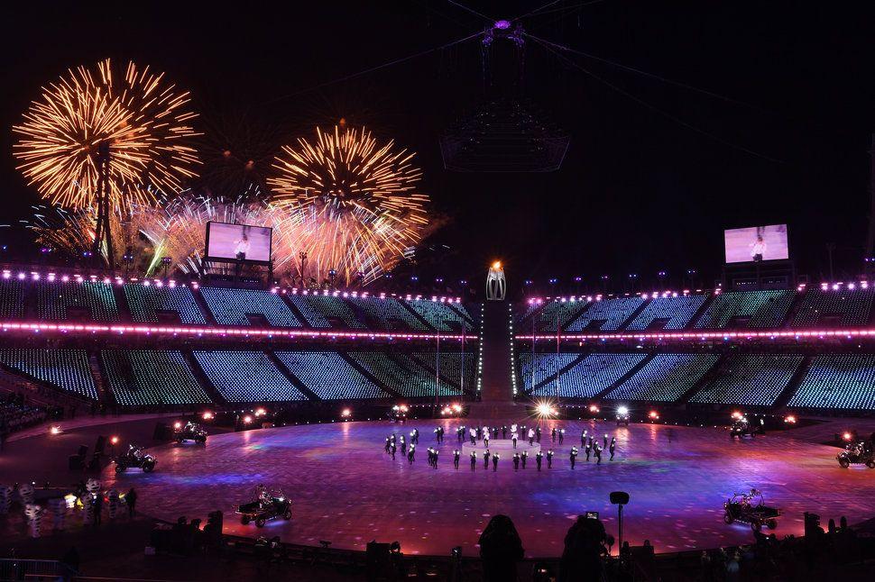 Stunning Photos Capture The 2018 Olympics' Closing