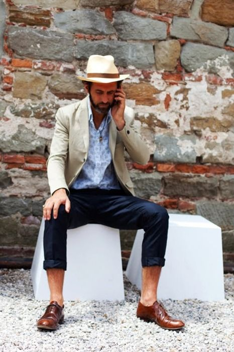 Don't you wish more American men would take notice of European style?