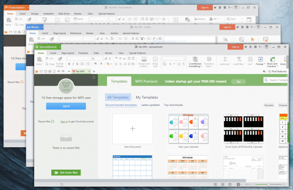 WPS Office from Kingsoft now available in the Microsoft