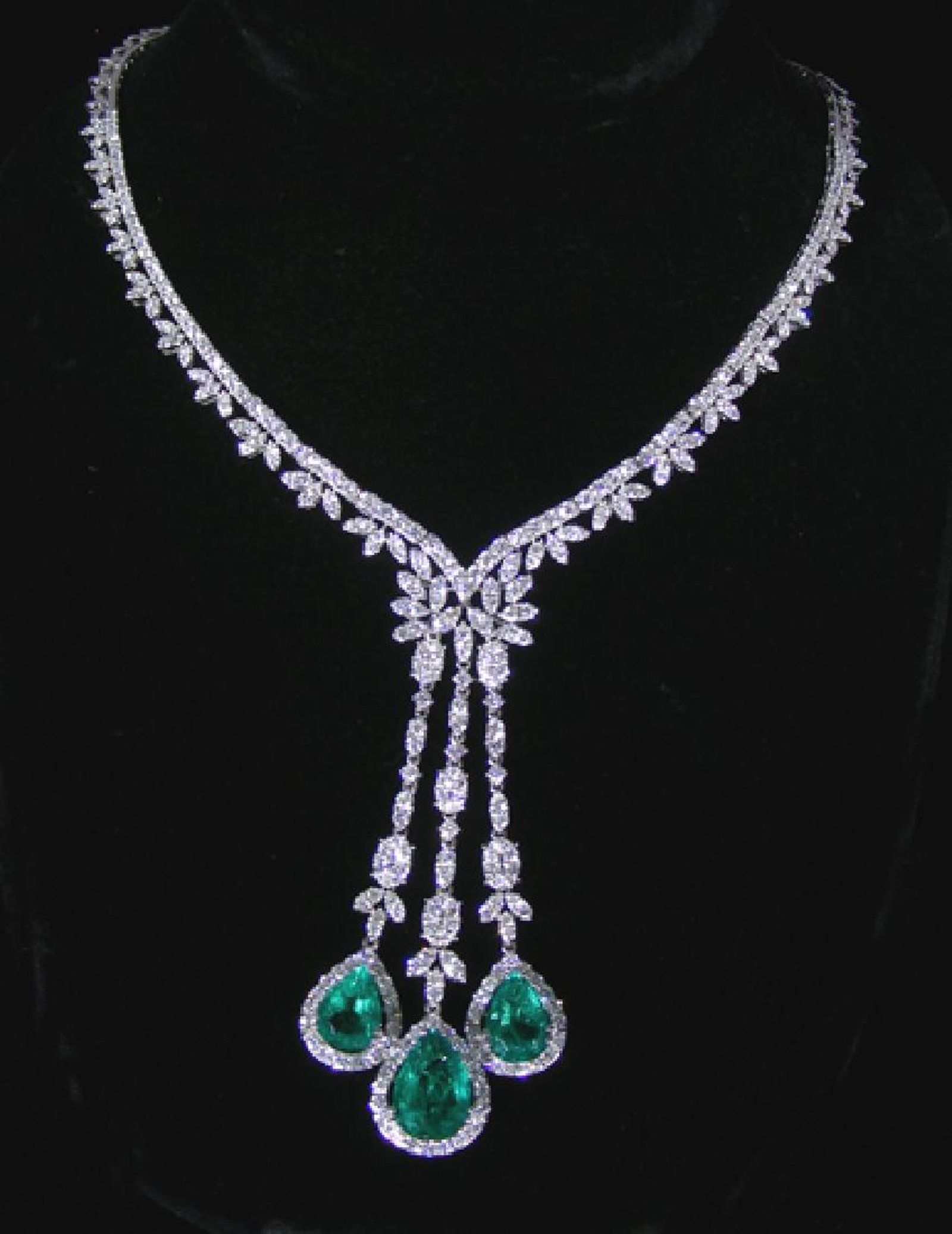sets set diamond vvs necklace