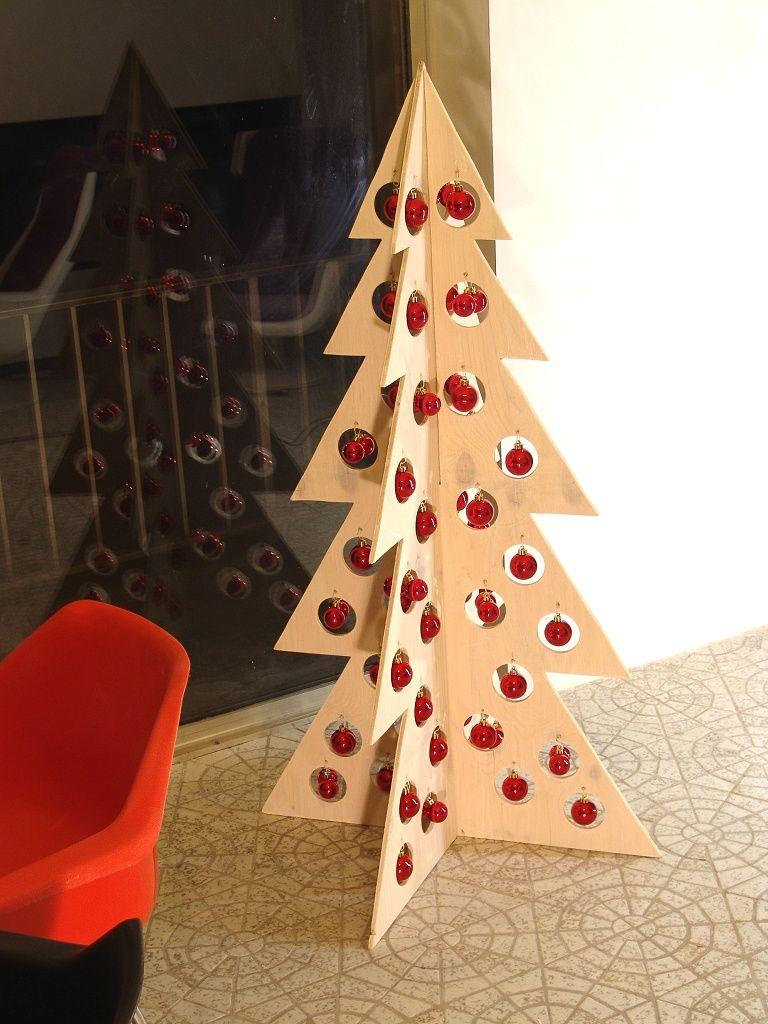 easy plywood christmas tree Google Search Modern