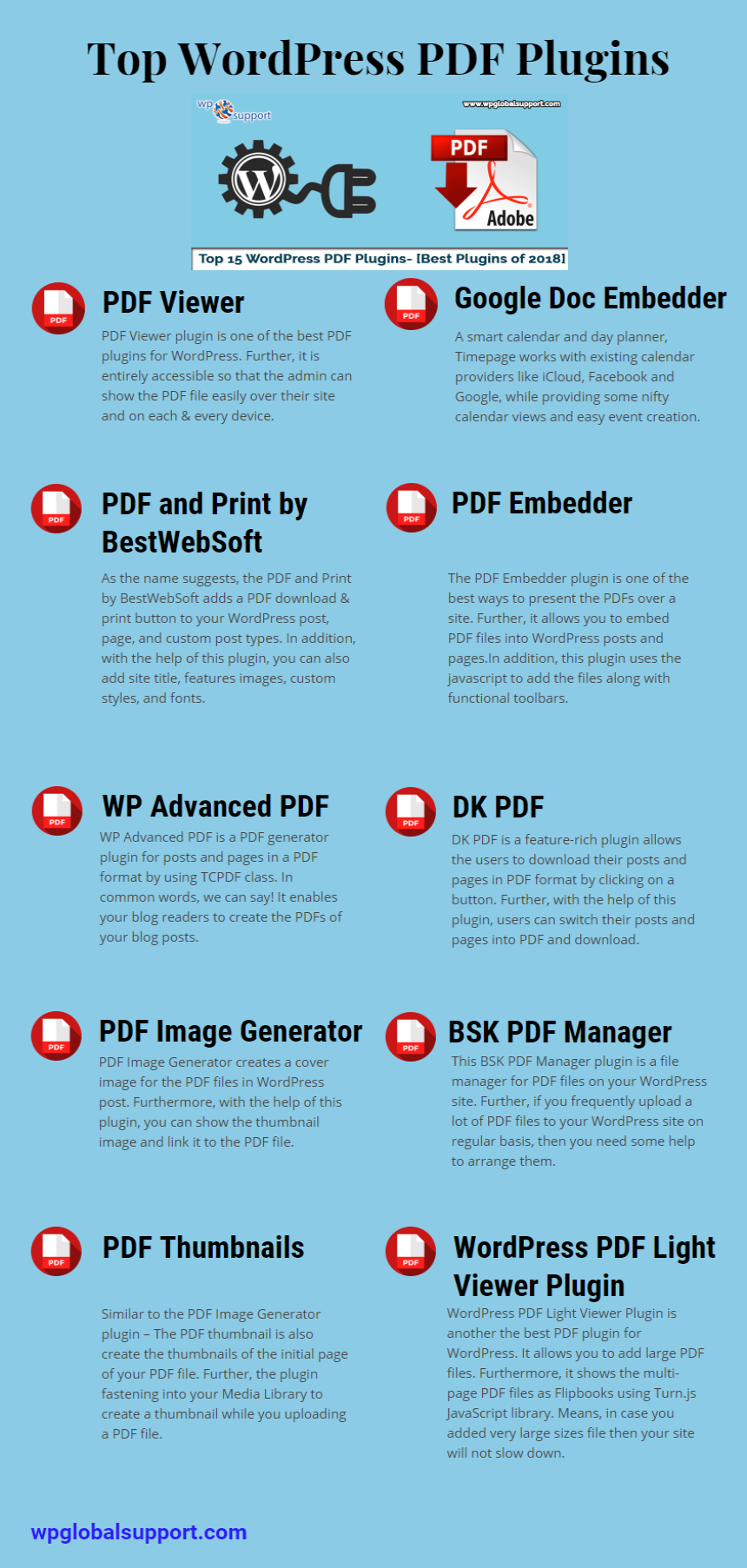 Why is not a PDF viewer in WordPress where visitors can view a full