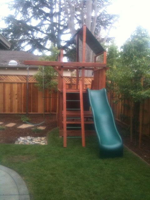 swing sets for small spaces the backyard factory small yard solutions house ideas 8419
