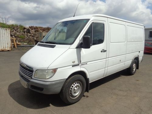2004 Freightliner Sprinter Cargo Van Mercedes Turbo Diesel Low