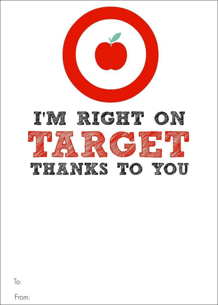 Target Gift Card Printable
