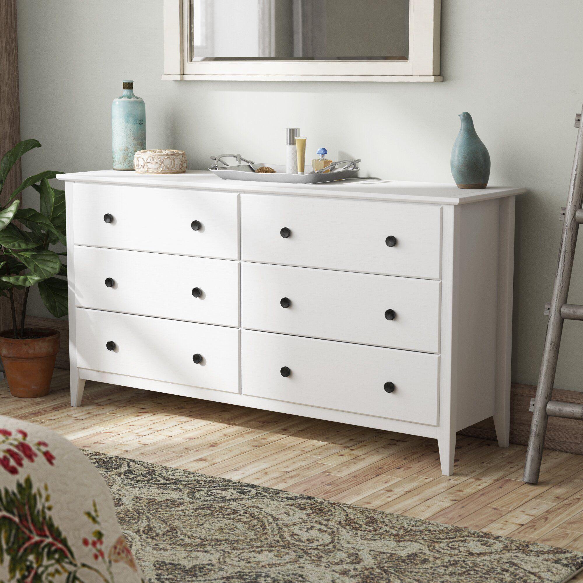 Greenport 6 Drawer Double Dresser Double Dresser Furniture Platform Bedroom Sets [ 2000 x 2000 Pixel ]