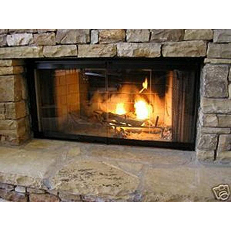36 Fireplace Glass Door Set To Fit Heatilator Unit Details Can