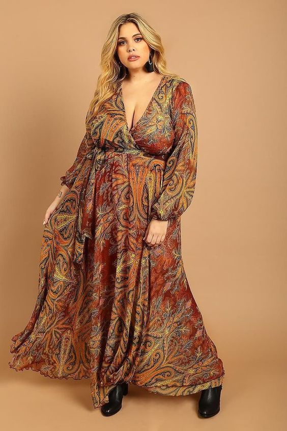 Curvy Womens Clothes UK | Bohemian style clothing, Plus