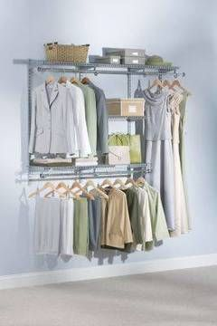 Help Unclutter Any Closet With The Rubbermaid Shoe Shelves For Closet  Organizer Kit. These 2 Shelves Feature Room For Holding Up To 8 Pairs Of  Shoes Help ...