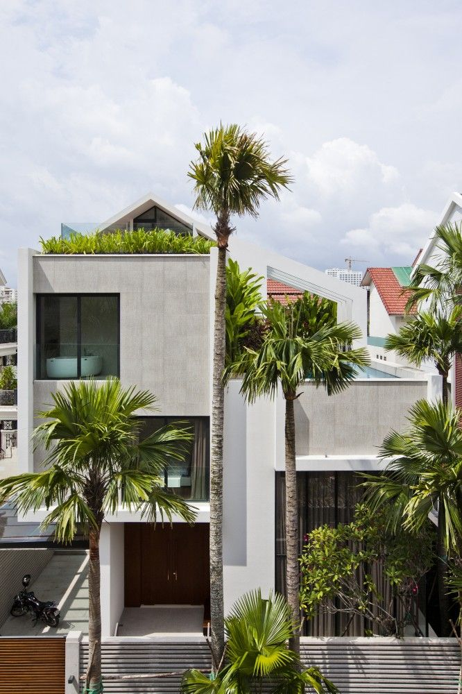 Gallery of NQ House / Nha Dan Architect - 29 | Architects, House ...