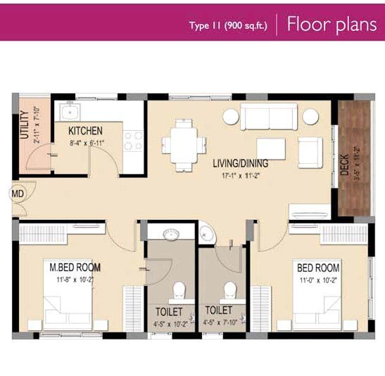 900 square foot house plans gallery floor plans layout for 2 bedroom house designs in india