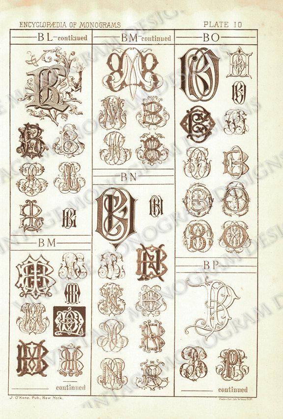 Unavailable Listing On Etsy Needlepoint Monogram Monogram Fonts Lettering Alphabet