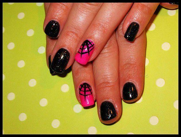 Halloween Gel Nail Designs  | Cynthia Nail Designs