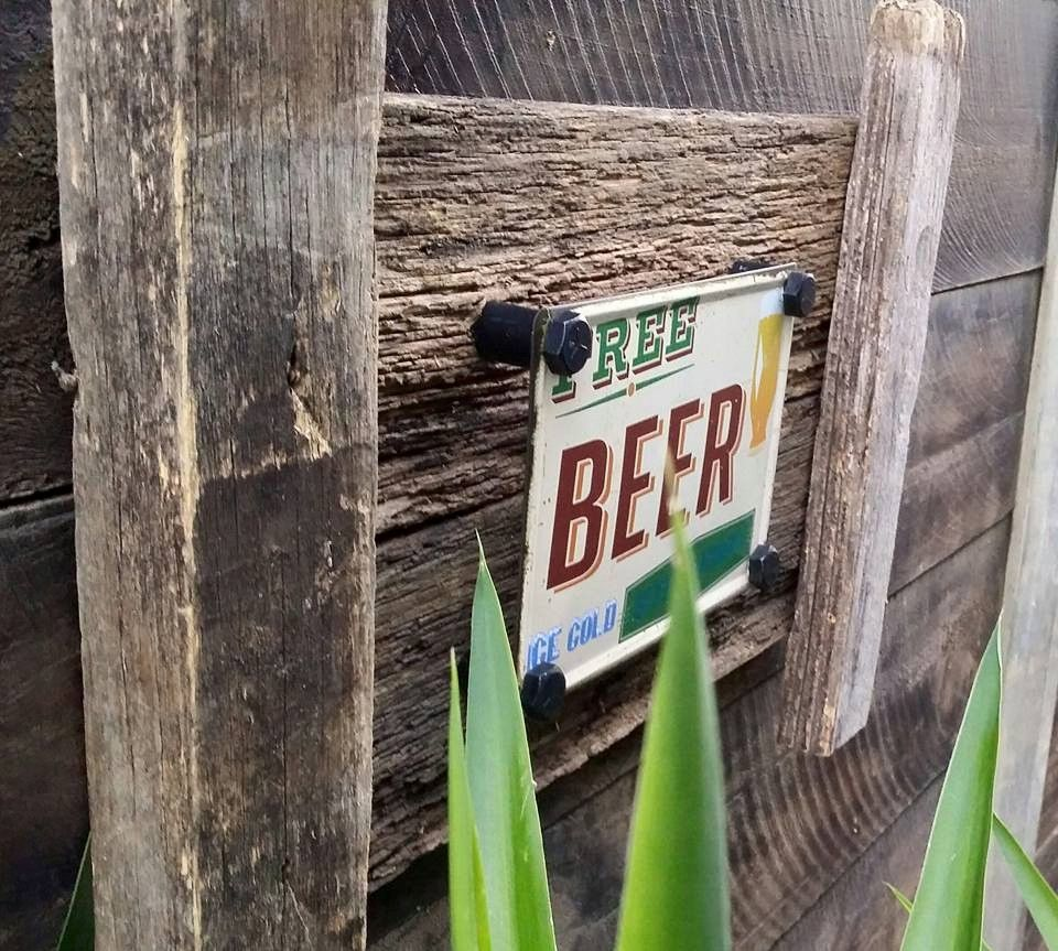 Rustic beer tin sign for the mancave? Great for fathers day Handmade Frame measures approximately 60cm x 45cm made from recycled timber...$70 www.newagerusticdesigns.com.au or email newagerustic@gmail.com or sms 0418-315-890