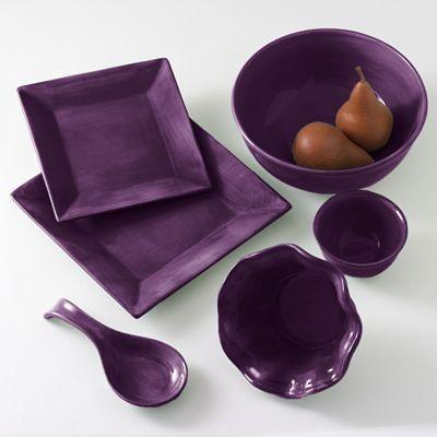 Corsica Dinnerware U0026 Accessories In Plum | For The Home | Pinterest